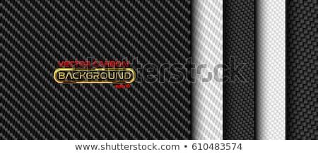 Koolstofvezel ingesteld vier textuur zwarte Stockfoto © fixer00