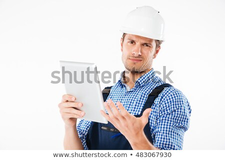 Engineer scratching his head Stock photo © photography33
