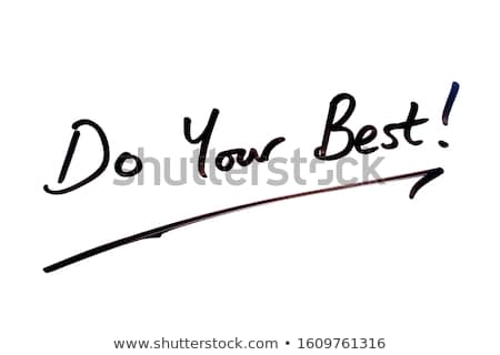Best of luck for your examinations Stock photo © stockyimages