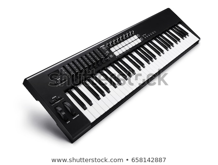 Synthesizer isolated Stock photo © timbrk