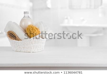 Wooden hairbrush close up  Stock photo © Julietphotography
