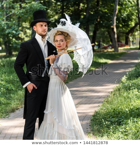 Victorian Couple Stock photo © AlienCat