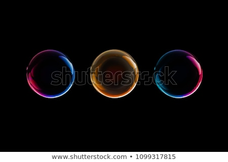 Red Soap Bubble Design Element Stock photo © Lightsource
