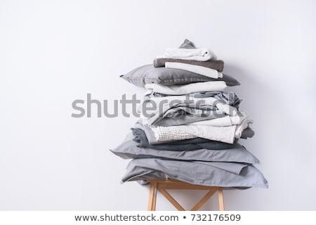Tecido textura casa fundo Foto stock © Coffeechocolates