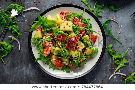 Fresh country salad Stock photo © doupix
