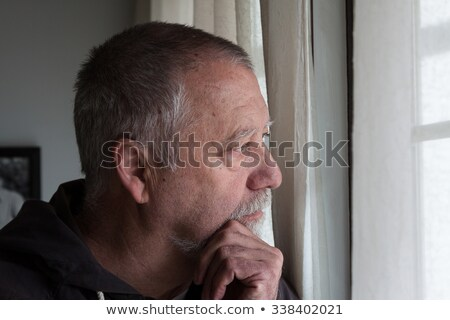 senior man looking confused Stock photo © photography33
