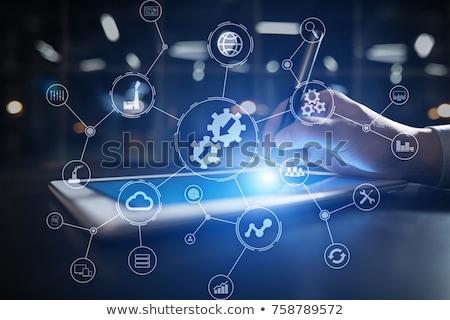 Dados integração informação ouro texto escuro Foto stock © tashatuvango