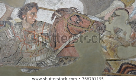 Alexander the great Stock photo © isaxar
