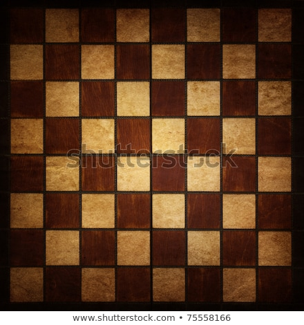 Eski ahşap satranç tahtası siyah beyaz ahşap arka plan Stok fotoğraf © stevanovicigor