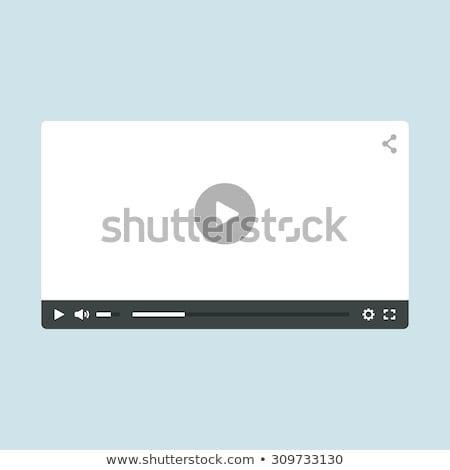 Ui design modernes hd écran Photo stock © DavidArts