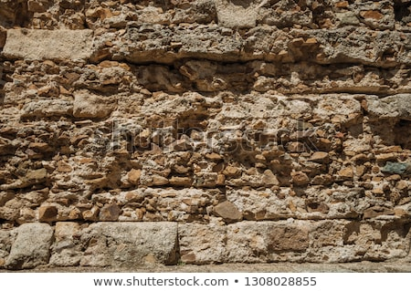Velho parede pedra objetos natureza casa Foto stock © scenery1