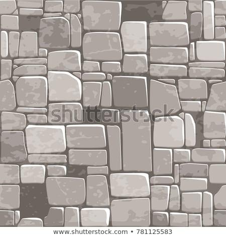 stone blocks in the walkway stock photo © zhukow