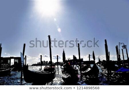 Picture of a many gondolas. Stock photo © Nejron