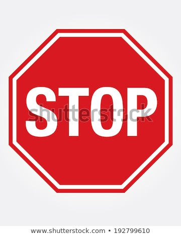 stop sign by the side of the road stock photo © brazilphoto