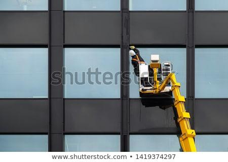 limpador · cidade · primeiro · plano · limpeza · máquina · água - foto stock © tiero