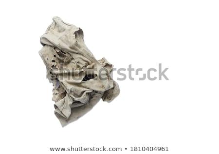 öreg · koszos · szerszámok · izolált · fehér · ipar - stock fotó © Mikko