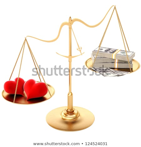Money Outweighs Love Stock photo © 3mc
