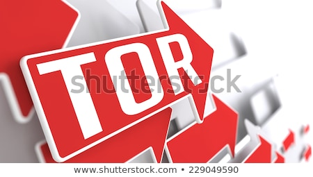 The Onion Router on Red Arrow. Stock photo © tashatuvango