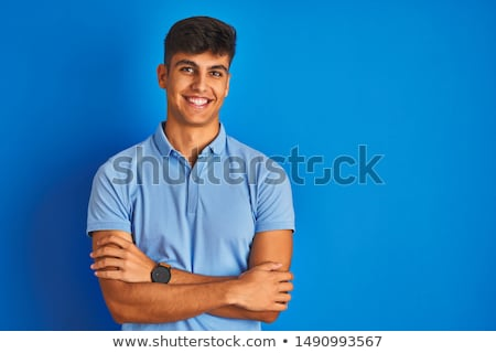 Man wearing blue polo Stock photo © photography33