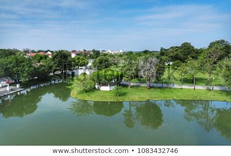Knal pijn paleis Thailand koninklijk zomer Stockfoto © tang90246