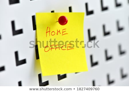 Stock photo: Desk in home office - July