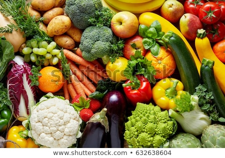 veggie and fruity stock photo © fisher