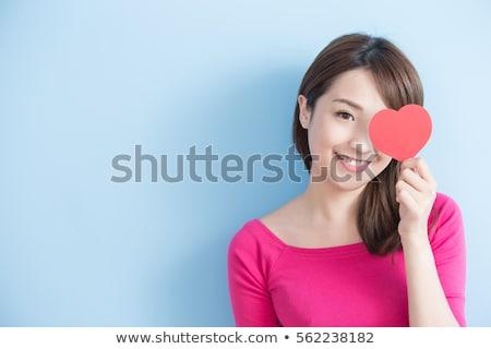 Sweet japanese girl Stock photo © elwynn