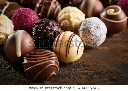 украшенный · роскошь · шоколадом · продовольствие · группа · шаблон - Сток-фото © peter_zijlstra
