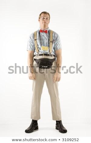 uomo · come · giovane · nerd · indossare - foto d'archivio © iofoto