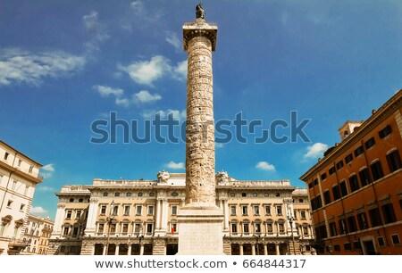 square piazza colonna in rome italy stock photo © vladacanon