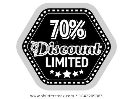 warranty guarantee seal square vector red icon design set stock photo © rizwanali3d