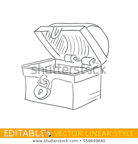 doodle dower chest stock photo © netkov1