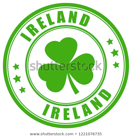 Írország vidék zászló térkép forma szöveg Stock fotó © tony4urban