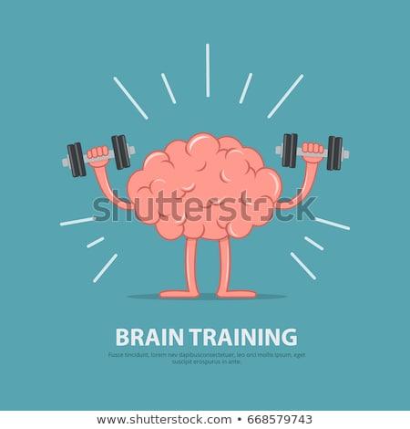 Fort cerveau activité formation esprit intelligence Photo stock © Lightsource