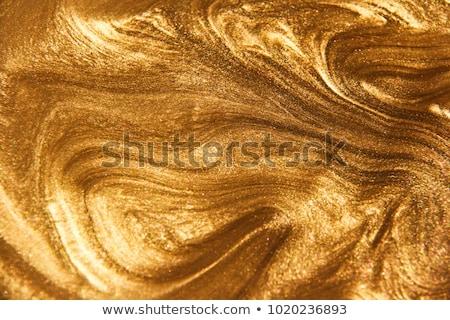 Flüssigkeit Gold zwei Gläser Whiskey Felsen Stock foto © alex_l
