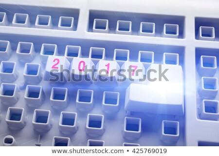 Computer keyboard 2017 #4 Stock photo © Oakozhan