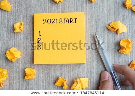 Strategy word on notepad Stock photo © fuzzbones0