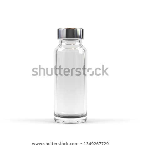 medicament in a glass vial closeup  Stock photo © OleksandrO