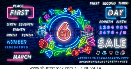 Six colorful signboards Stock photo © bluering