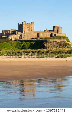 bamburgh castle northumberland england europe stock photo © capturelight