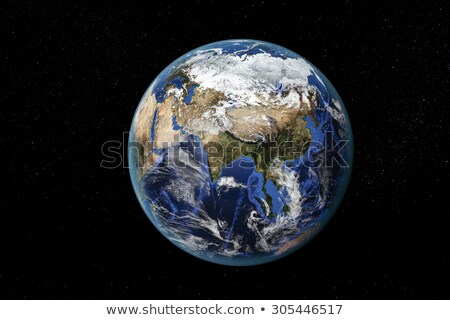 Earth from space, showing Asia and the Far East. Stock photo © timh