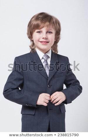 çocuk klasik takım elbise ceket görüntü başarılı Stok fotoğraf © Traimak