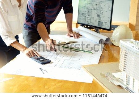 Architects discussing project Stock photo © IS2