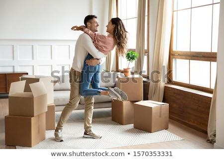 Rimozione primo amore spostare insieme uomo Foto d'archivio © IS2