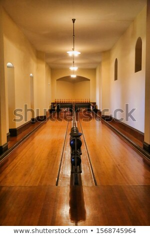 bowler and two people as pins Stock photo © IS2