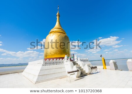 Myanmar. Bupaya Pagoda Stock photo © romitasromala