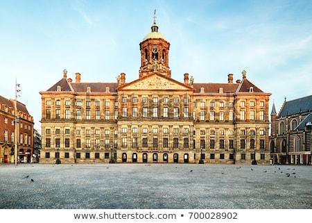 kraliyet · saray · Amsterdam · hollanda · şehir · Hollanda - stok fotoğraf © neirfy