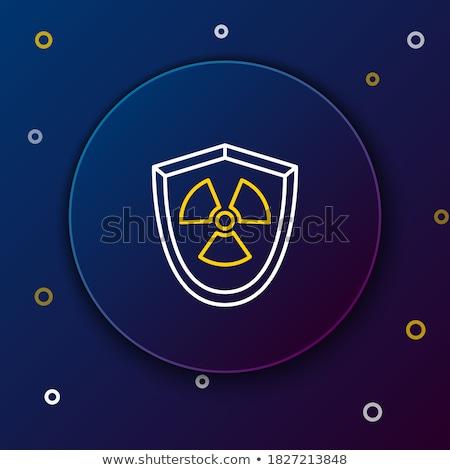 радиоактивный · символ · баррель · ядерной · отходов · металл - Сток-фото © ustofre9