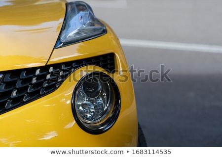 The left headlight of the old automobile Stock photo © nemalo