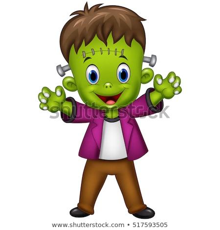 Cartoon Frankenstein Shock Stock photo © cthoman